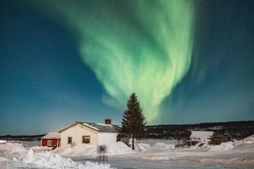 Årets sista dagar uppe i Lappland