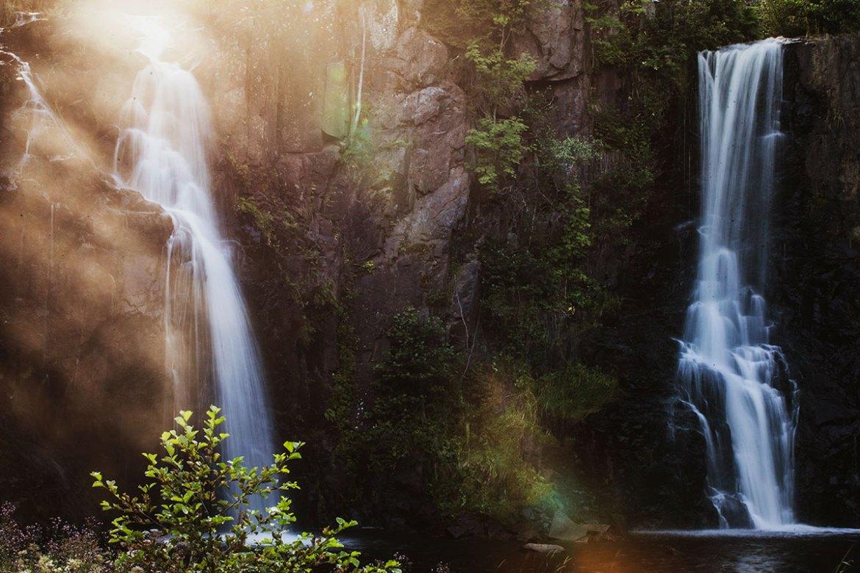 Vattenfallet Stalpet i Småland