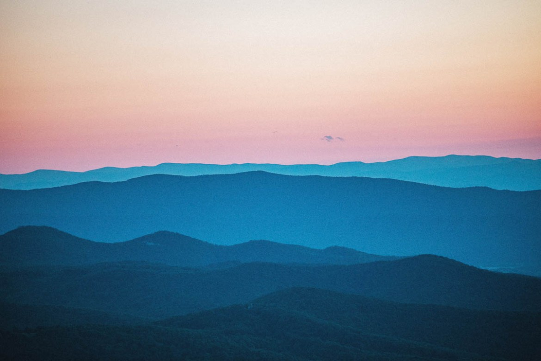 Shenandoah National Park i Virginia // Nationalparker i USA