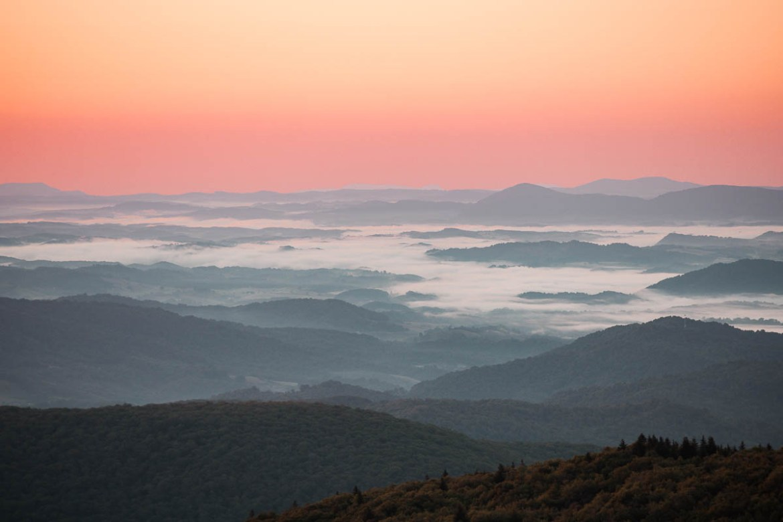 Greyson Highlands State Park i Virginia