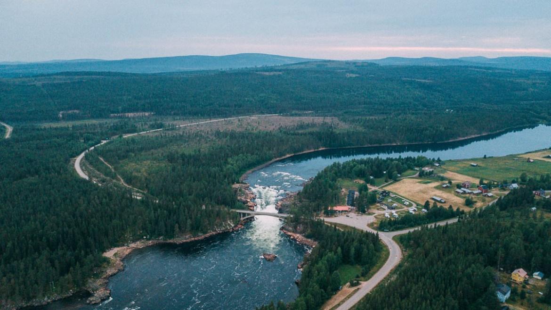 Jockfall - Kalixälven - Nationalälv i Sverige