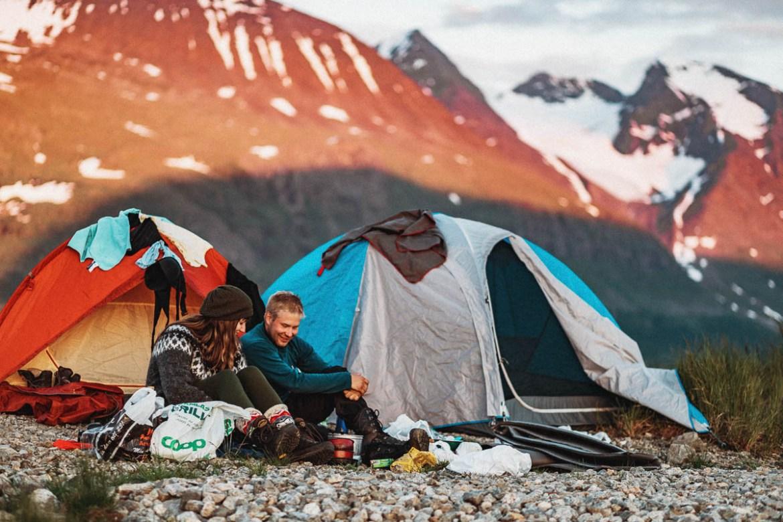 Fjällvandring längs Padjelantaleden | nationalparker i Sverige | Lappland
