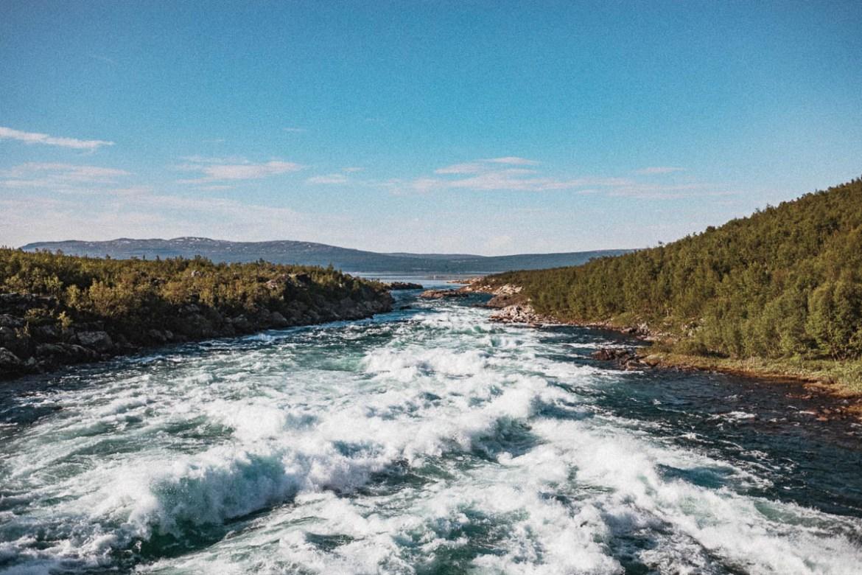 Stora Sjöfallet | nationalparker i Sverige | Lappland