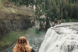 Upper Mesa Falls | Mesa Falls Scenic Byway | Idaho