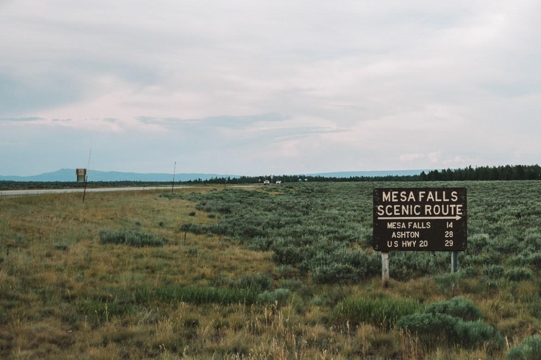 Roadtrip: Mesa Falls i Idaho till Ennis i Montana