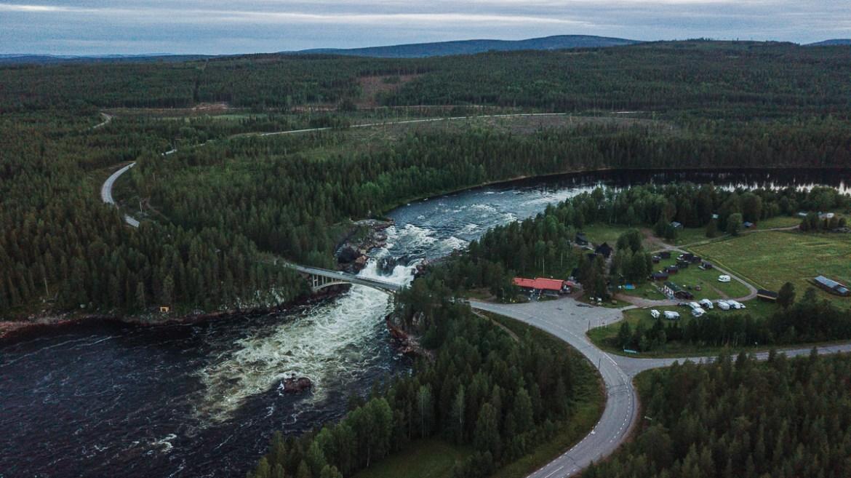 Jockfall Överkalix Norrbotten Sverige