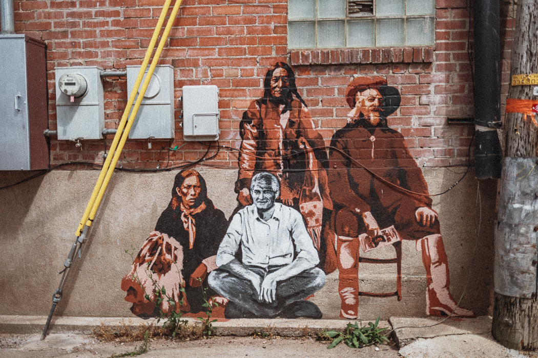Laramie Mural Project - Wyoming - USA