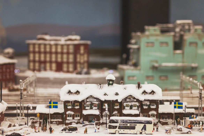 En liten bit av Kiruna finns på Miniatur Wunderland i Hamburg.