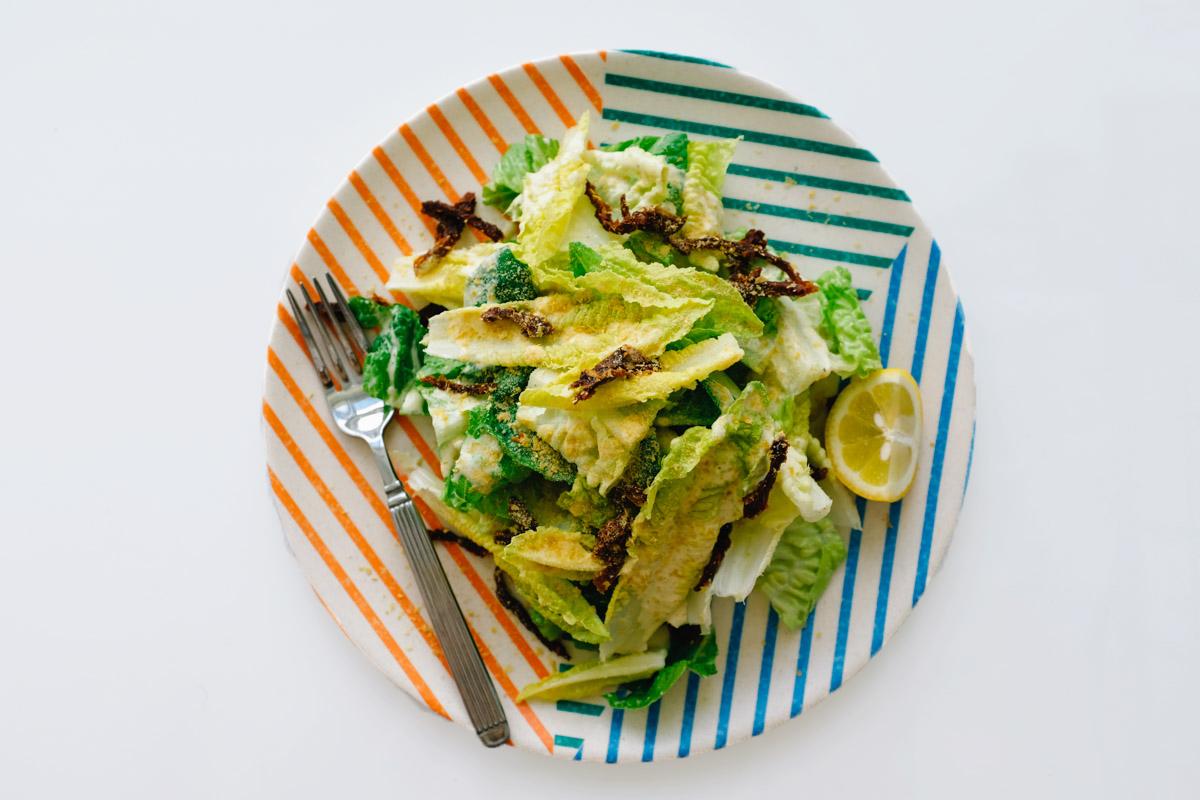 My Favorite Vegan Caesar Salad Recipe