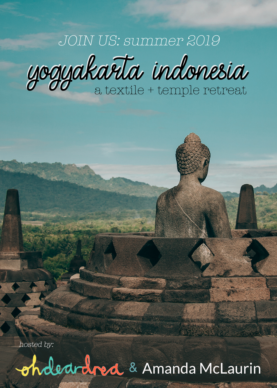 Want To Travel With Us?! Summer 2019 Indonesia Retreat!
