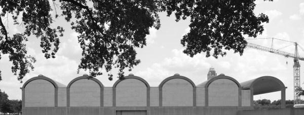 Louis Kahn Kimbell Art Museum Elevation