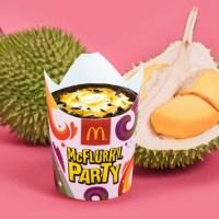 Ais Krim Durian MCD Kembali Dijual