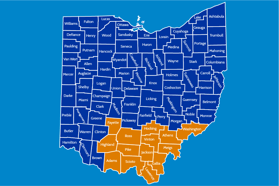 South Area County Map
