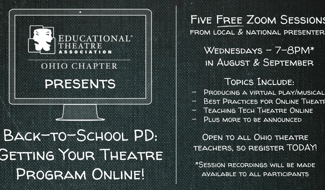2020 Back-to-School Professional Development Series