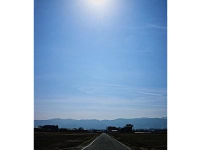 春霞の徳島平野 歩き遍路の楽しいひととき