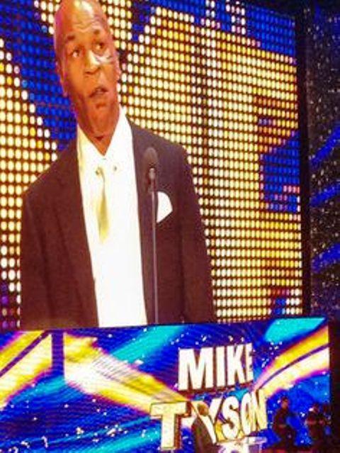 Mike Tyson - Hall da Fama da WWE