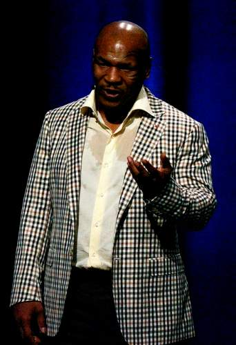Mike Tyson ao vivo