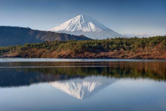 Lago Saiko e Monte  Fuji, Japão