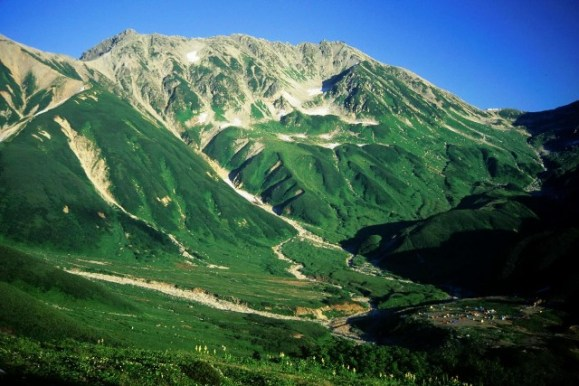 Monte Tate, Japão