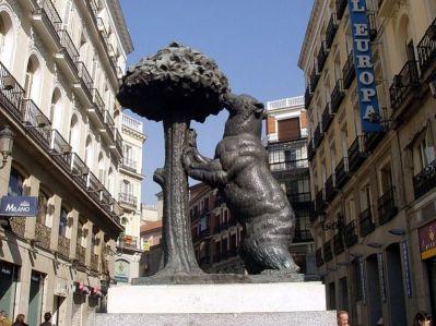 Arbutus e urso de Madrid