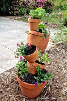 Topsy-turvy Garden Planter Fiddle Dee