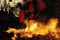 balinesischer Feuertanz