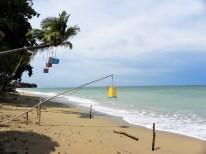 Unser Strand direkt am Hotel...