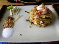 Pad Thai - traditionelles Nudelgericht der thailändischen Küche