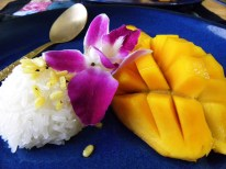 Sweet yellow Mango with Sticky Rice