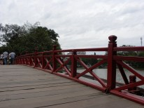 Red Bridge Hoan Keim Lake