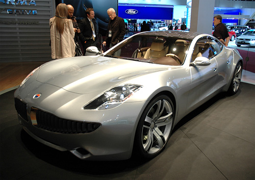 [naias 2008] Fisker Automotive Karma  Another High