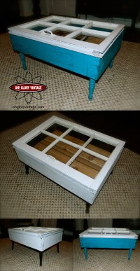 More Reclaimed Window Coffee Tables Available