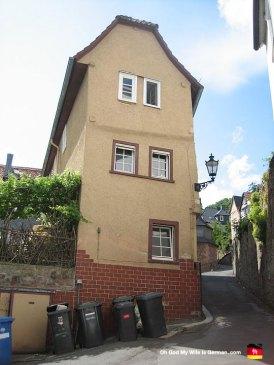 marburg-germany-leaning-building
