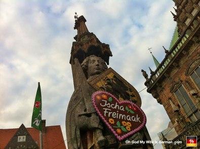 Gettin' hard to take you seriously, Bremen Freimarkt.