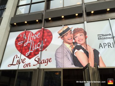 We also caught a performance of I Love Lucy Live on Stage, at the Keller Auditorium. It was EXACTLY like watching a rerun of the original show, so... wait, why did we do this again?