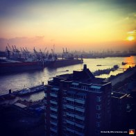 Southwest-view-of-Elbe-River-from-Empire-Riverside-Hotel-Hamburg-Germany