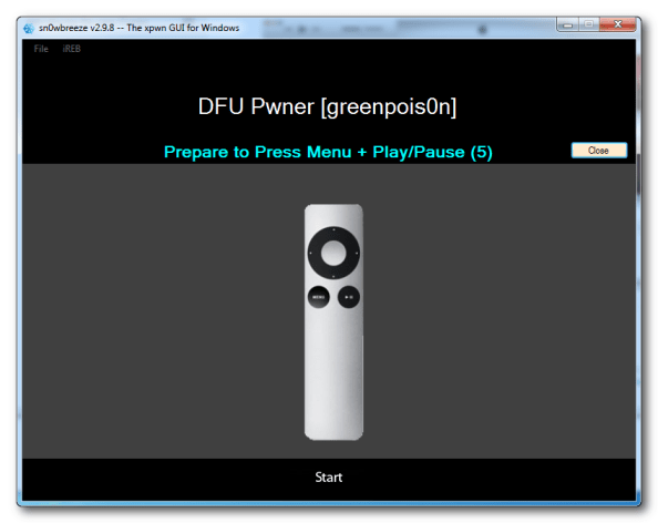 Apple TV DFU Mode