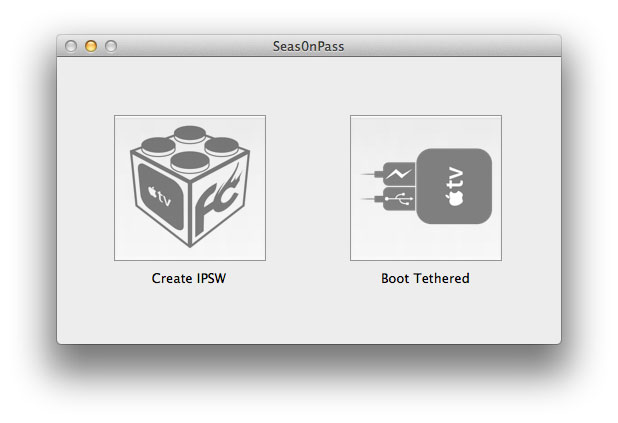 Create IPSW Apple TV Jailbreak