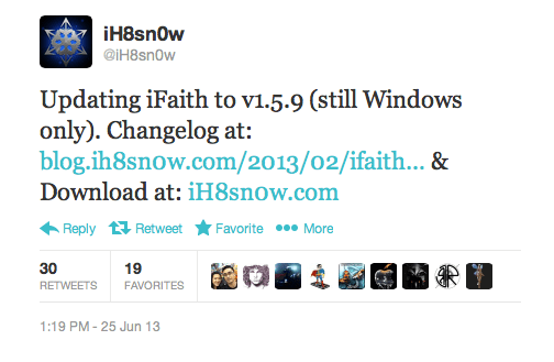 iH8sn0w releases updates for iFaith V1.5.9
