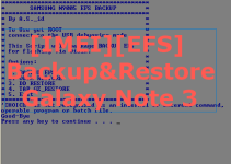 EFS Backup and Restore tool for Galaxy Note 3