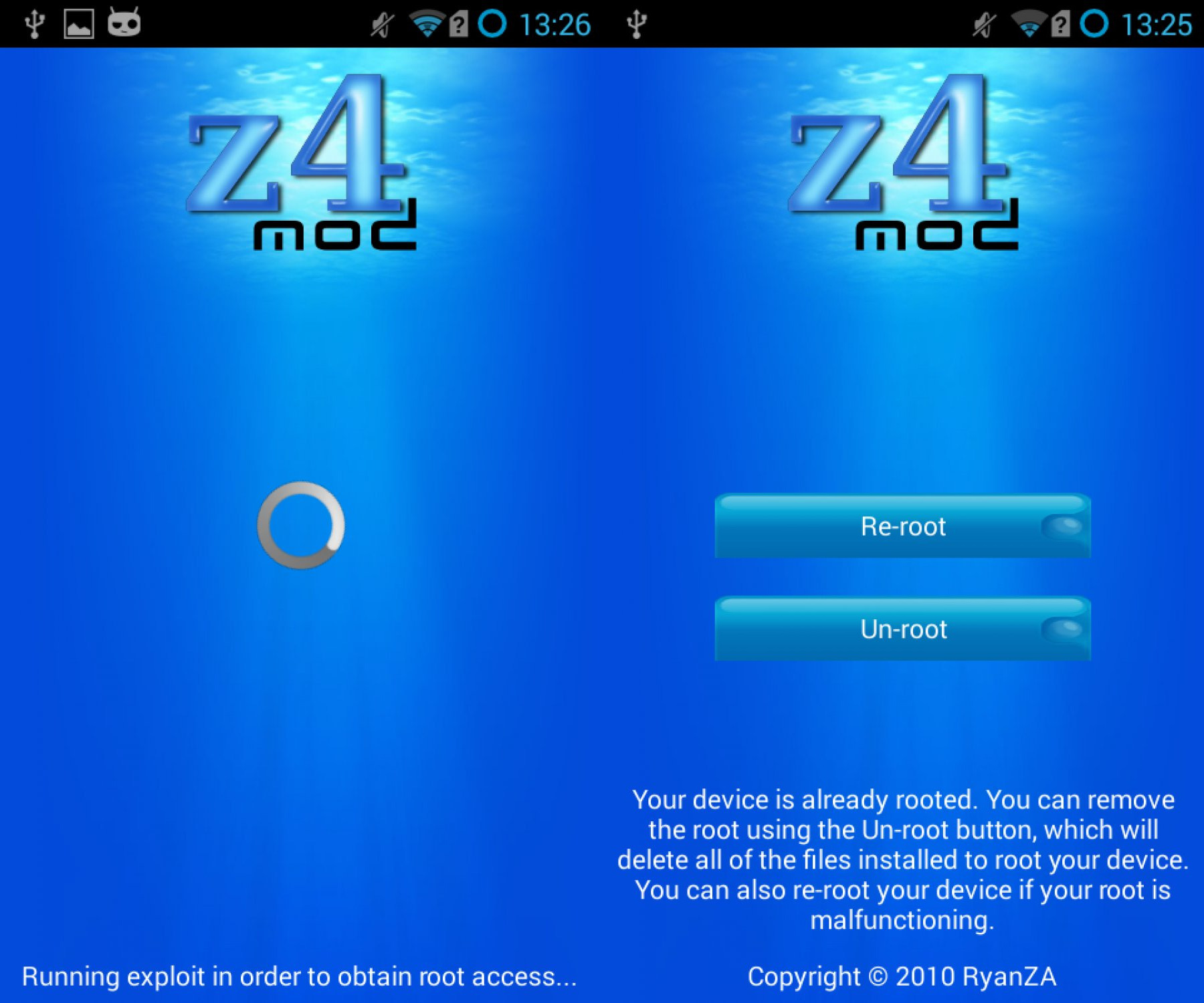 z4root apk free app to root your android