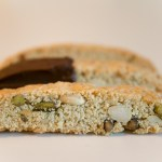 Italian biscotti with pistachio and anise