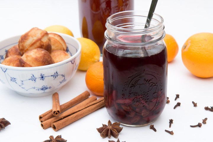 Mulled Wine or Danish Glögg