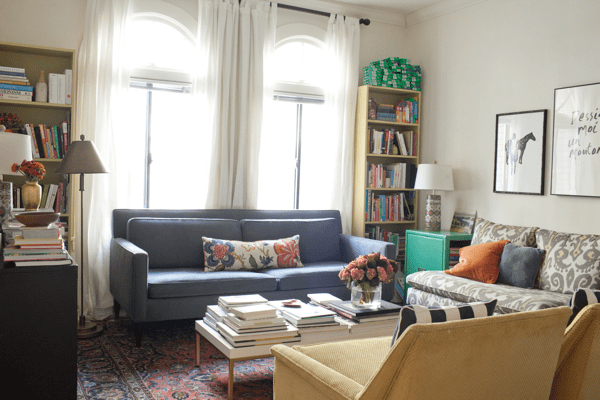 My San Francisco Apartment Living Room