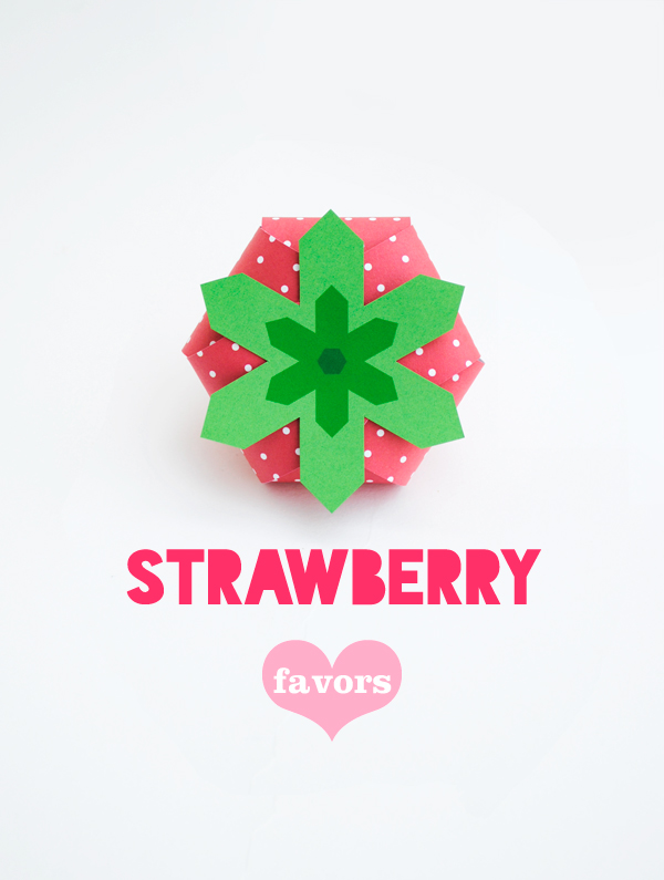 Free 'strawberry treat box' printable