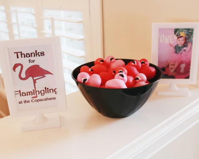 Flamingo Party Favors