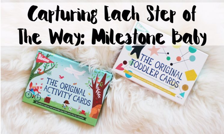 Capturing Each Step of The Way with Milestone Baby Cards