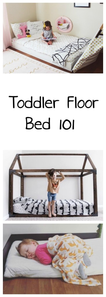 Toddler Floor Bed 101   Oh Happy Play