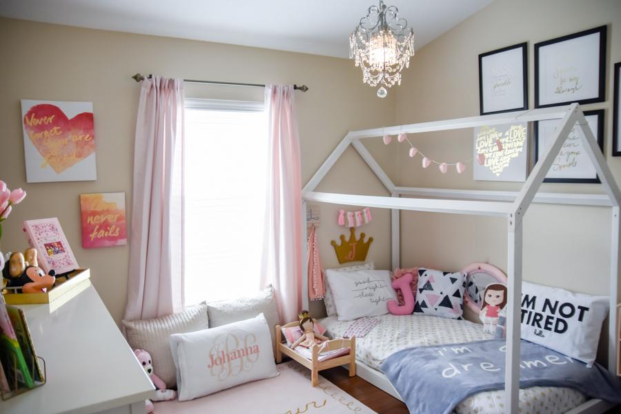 Toddler Room, Baby Room, Nursery, Girl Room, Boy Room, Floor Bed
