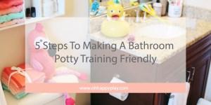 potty training, toilet learning, kid's bathroom, bathroom for kids, potty training tips